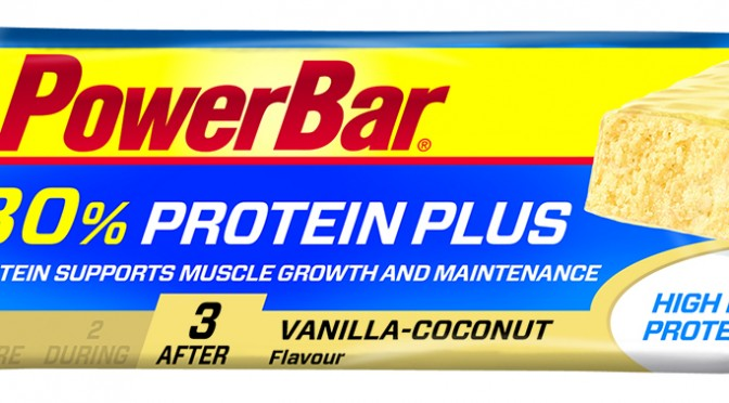 Tre gode proteinbar, proteinplus fra powerbar