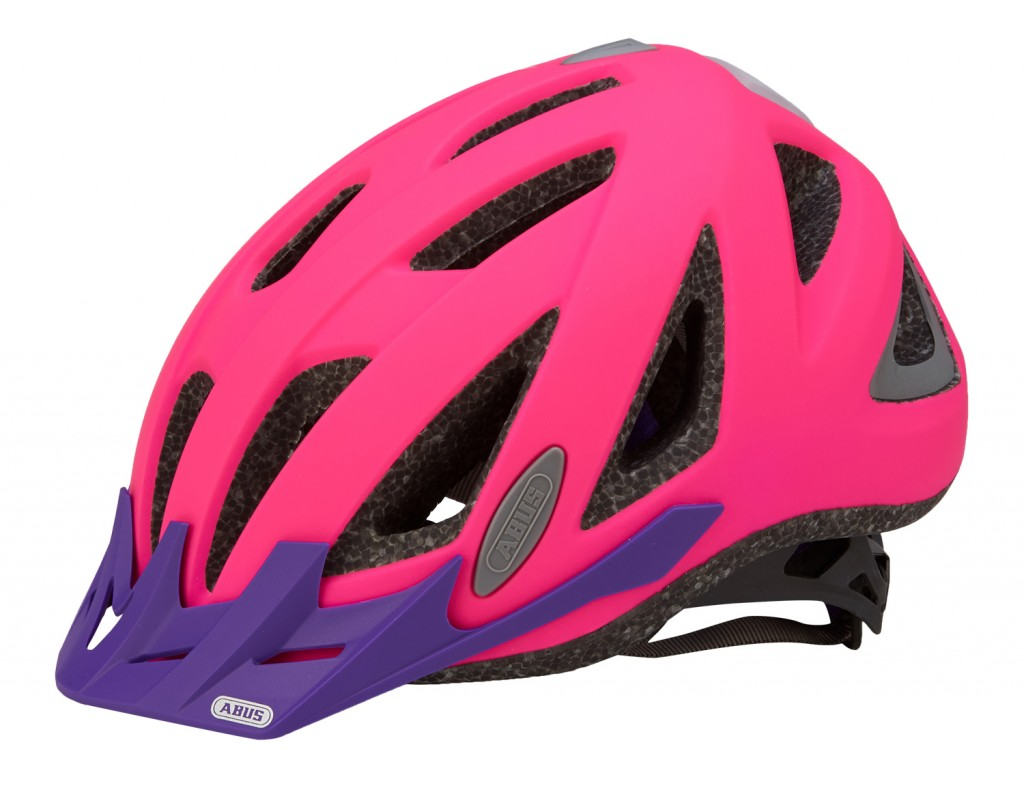 Abus cykelhjelm med lys skift batteri