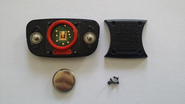 Skift batteri på Garmin pulsbælte