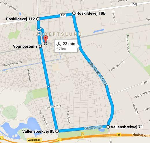 google_maps_rute_kort
