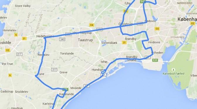 Min første cykeltur på 100 kilometer