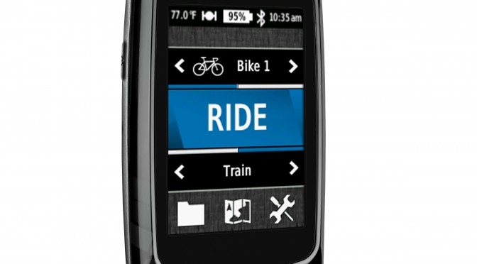 Cykelcomputer Garmin Edge 810 GPS